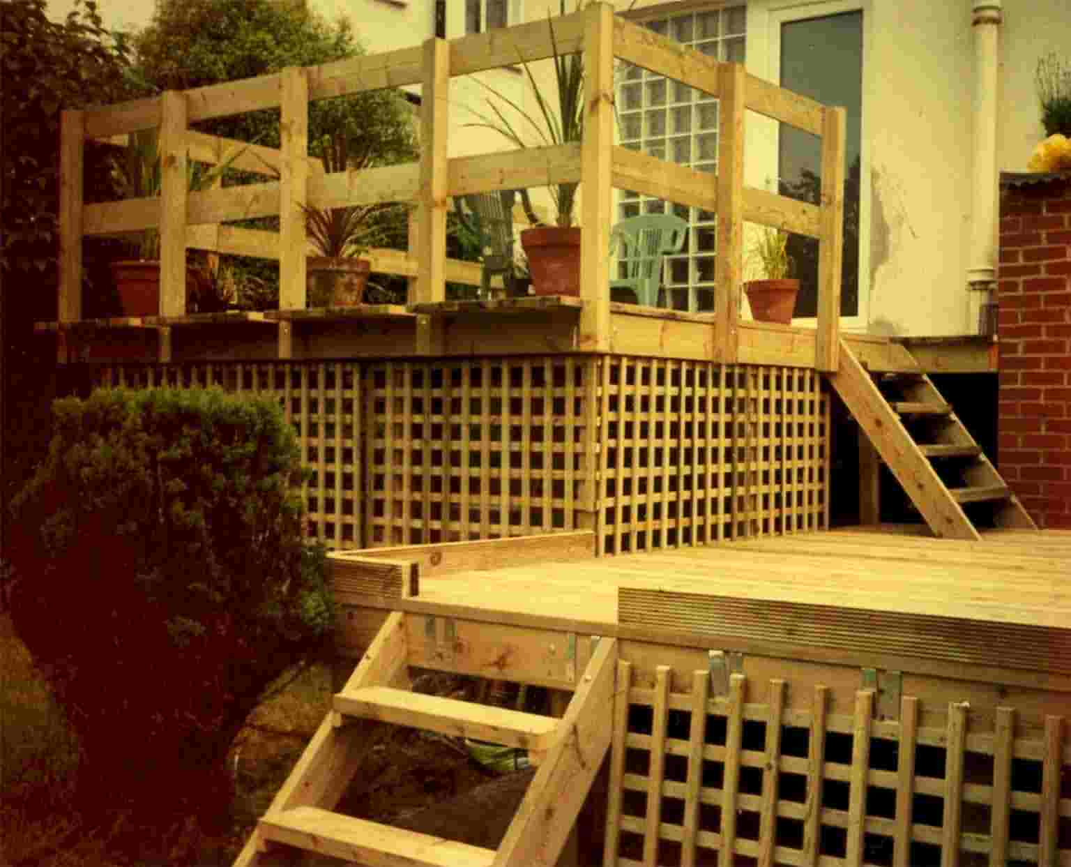Alexander seacovelandscape decking for Pre made timber decking